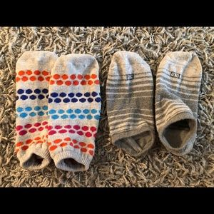 Grey Ankle Socks